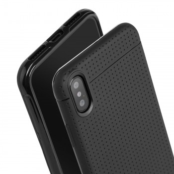 MutuTec iPhone X Apple Phone Case Soft TPU - Black – Bild 4