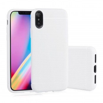 MutuTec iPhone X Apple Phone Case Soft TPU - White – Bild 1