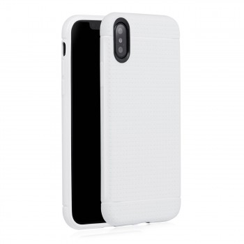 MutuTec iPhone X Apple Phone Case Soft TPU - White – Bild 3