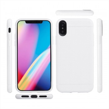 MutuTec iPhone X Apple Phone Case Soft TPU - White – Bild 2