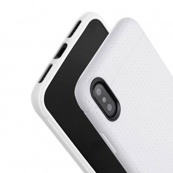 MutuTec iPhone X Apple Phone Case Soft TPU - White – Bild 4