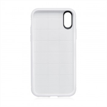 MutuTec iPhone X Apple Phone Case Soft TPU - White – Bild 5