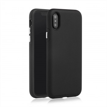 MutuTec iPhone X Apple Phone Hard Case - Black – Bild 2