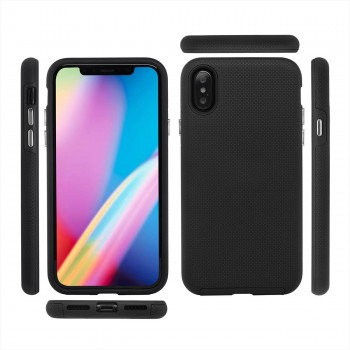 MutuTec iPhone X Apple Phone Hard Case - Black – Bild 3