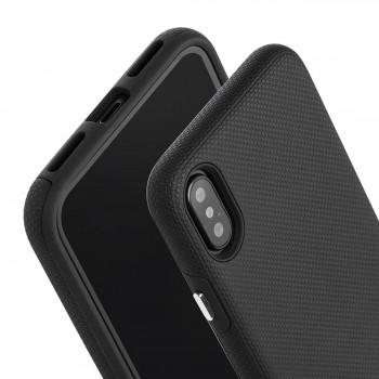 MutuTec iPhone X Apple Phone Hard Case - Black – Bild 4