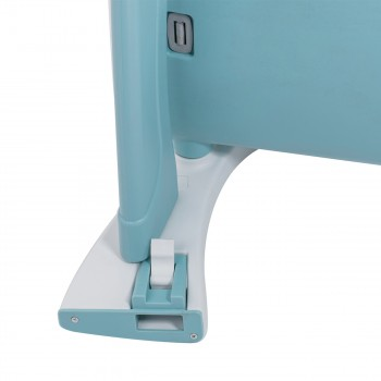 Baby Vivo 2-in-1 Child's Highchair / Combo Plastic High Chair with Table and Casters - Mara in Mint green – Bild 17