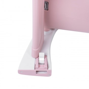 Baby Vivo 2-in-1 Child's Highchair / Combo Plastic High Chair with Table and Casters - Mara in Pink – Bild 17