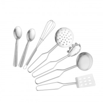 Baby Vivo Children's Kitchen Accessories - 22-piece Cookware Set made of Stainless Steel – Bild 4