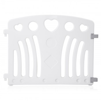 Baby Vivo Playpen Plastic 8 Elements in Grey / White - Judy – Bild 11