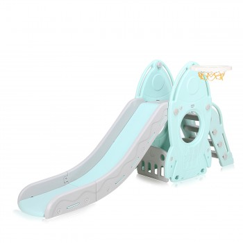 Baby Vivo Kids slide / Children´s slide in Turquoise / Grey – Bild 2