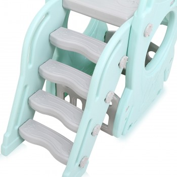 Baby Vivo Kids slide / Children´s slide in Turquoise / Grey – Bild 10