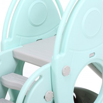 Baby Vivo Kids slide / Children´s slide in Turquoise / Grey – Bild 11