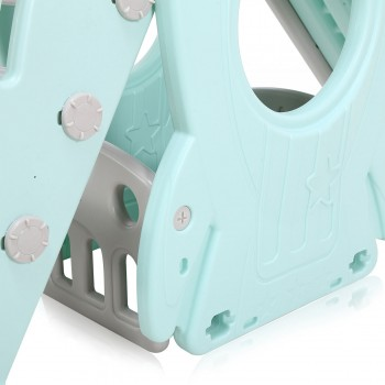 Baby Vivo Kids slide / Children´s slide in Turquoise / Grey – Bild 14