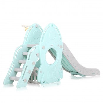 Baby Vivo Kids slide / Children´s slide in Turquoise / Grey – Bild 3