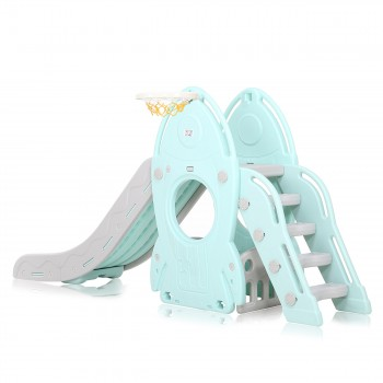 Baby Vivo Kids slide / Children´s slide in Turquoise / Grey – Bild 4