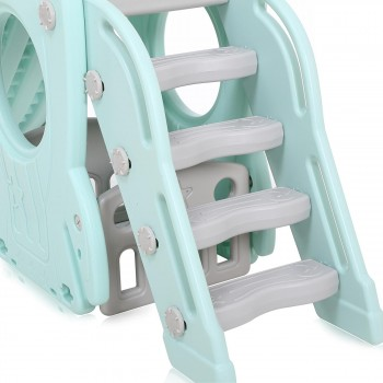 Baby Vivo Kids slide / Children´s slide in Turquoise / Grey – Bild 9