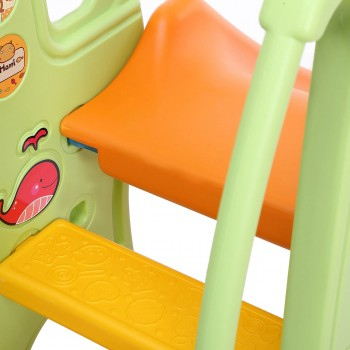 Baby Vivo Kids slide / Children´s slide in Orange / Green – Bild 10