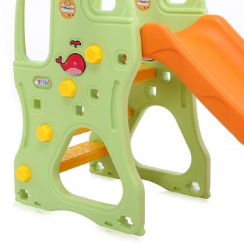 Baby Vivo Kids slide / Children´s slide in Orange / Green – Bild 11