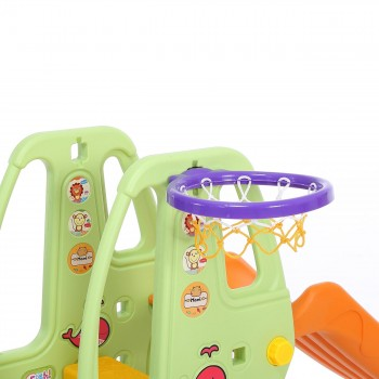 Baby Vivo Kids slide / Children´s slide in Orange / Green – Bild 12