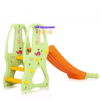Baby Vivo Kids slide / Children´s slide in Orange / Green – Bild 3