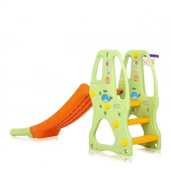 Baby Vivo Kids slide / Children´s slide in Orange / Green – Bild 4