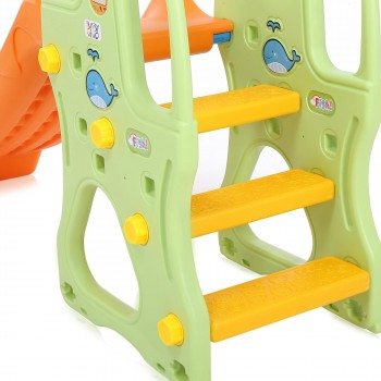 Baby Vivo Kids slide / Children´s slide in Orange / Green – Bild 9