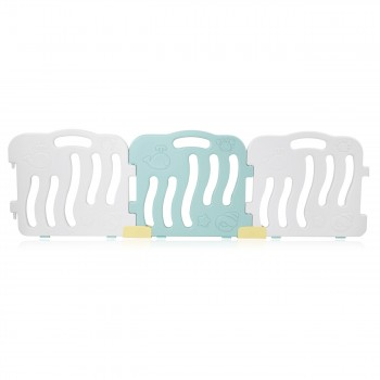 Baby Vivo Playpen Plastic 14 Elements in Turquoise / White - Bailey  – Bild 8