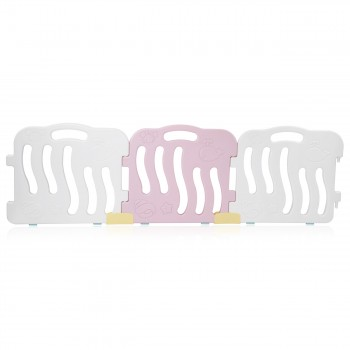Baby Vivo Playpen Plastic 14 Elements in Pink / White - Bailey  – Bild 10
